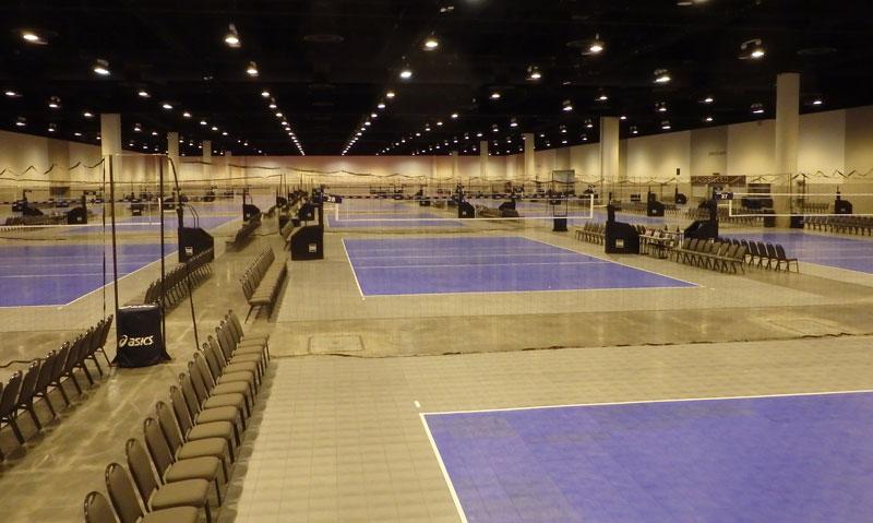 Convention Center Setup