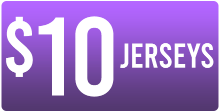 WAREHOUSE SALE - $10 JERSEYS