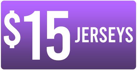 WAREHOUSE SALE - $15 JERSEYS