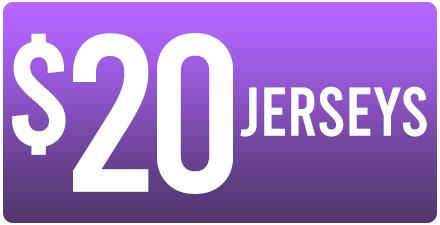 WAREHOUSE SALE - $20 JERSEYS