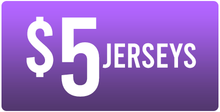 WAREHOUSE SALE - $5 JERSEYS