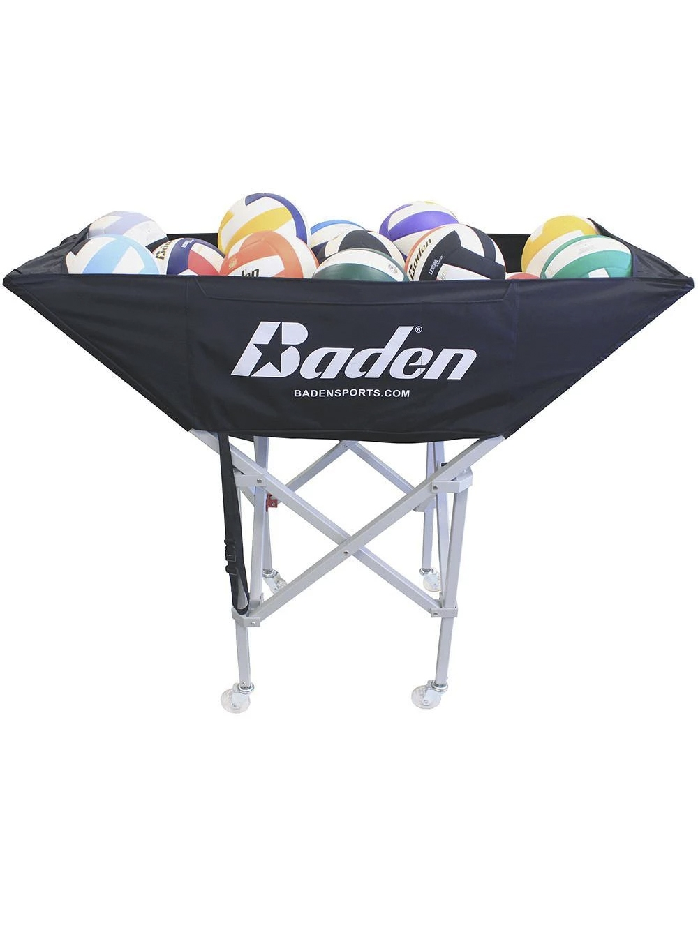 Baden Hammock Ball Cart Midwest Volleyball Warehouse