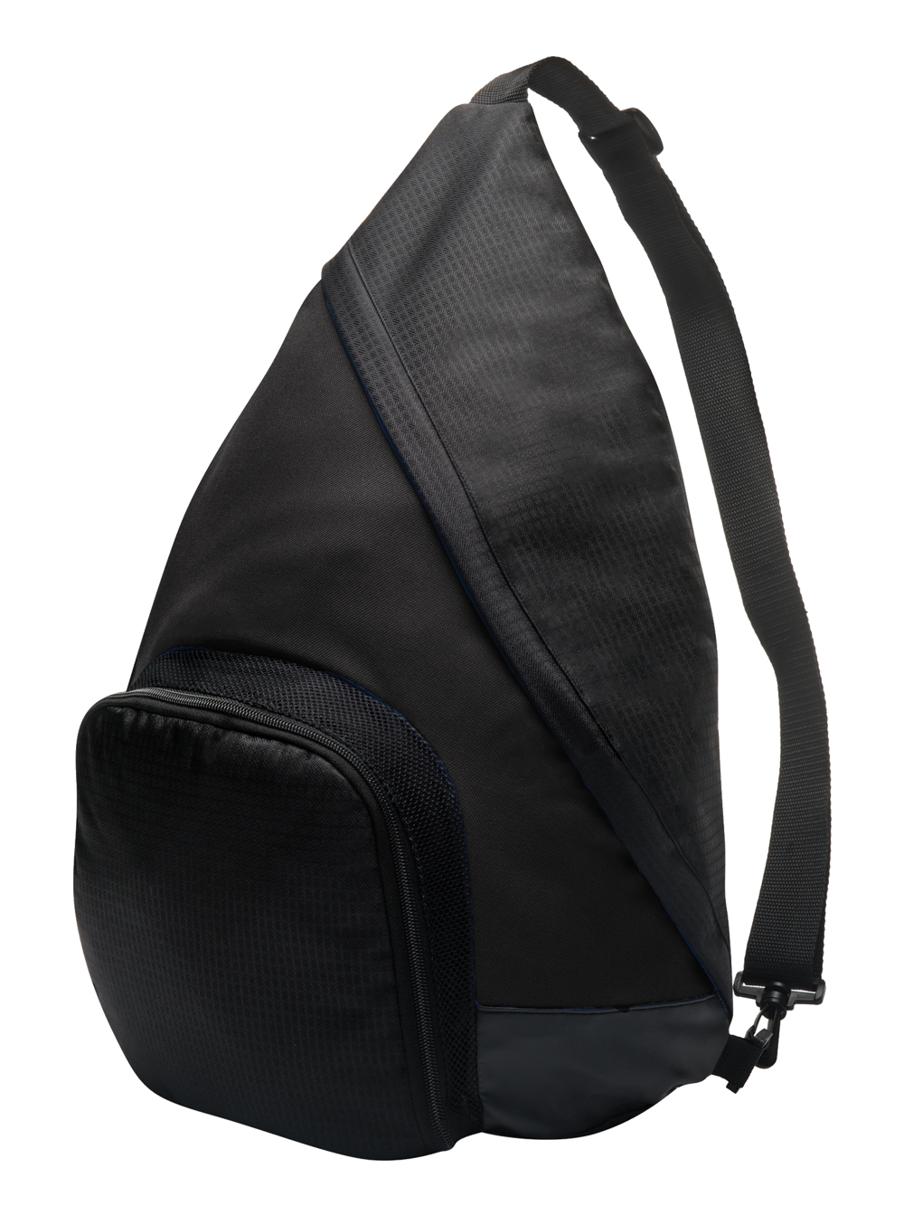 Sling Back Pack Grey Black Midwest Volleyball Warehouse