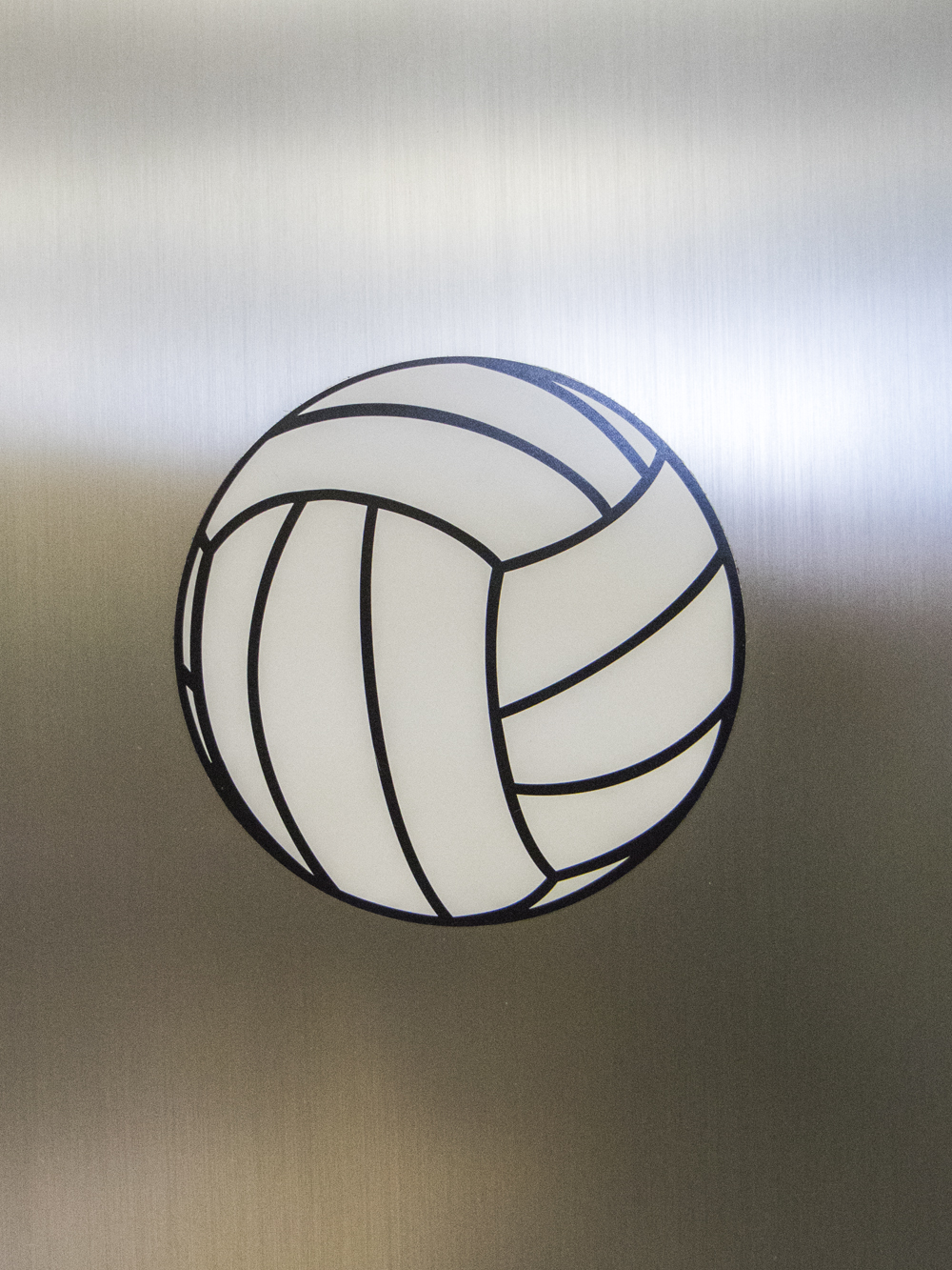 Large Volleyball Magnet 5 3 4 Midwest Volleyball Warehouse