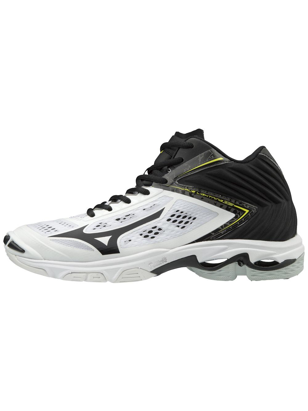 mizuno women's wave lightning z5 indoor court shoe herren grey