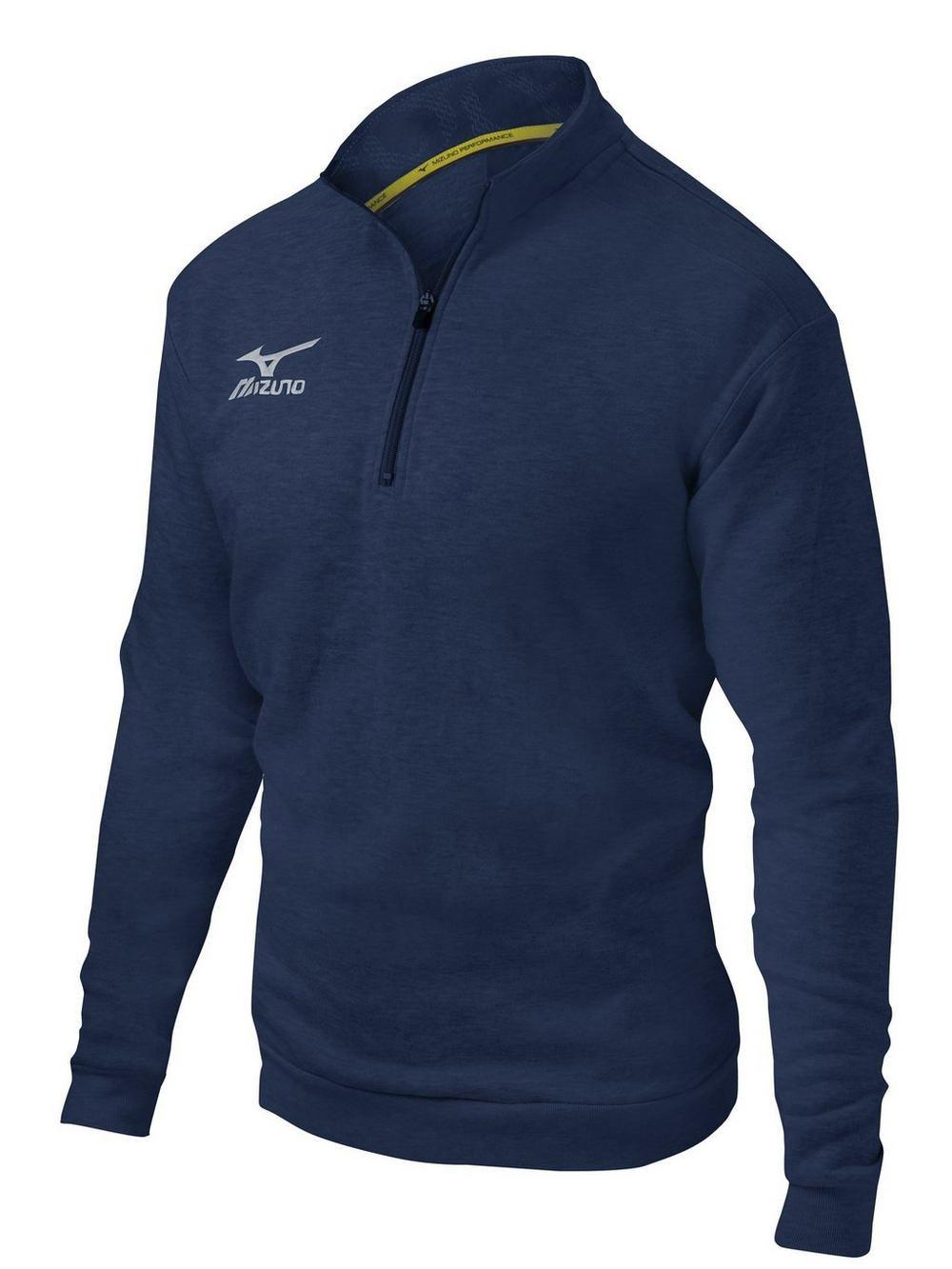 Mizuno 1 2 Zip Fleece Pullover Midwest Volleyball Warehouse