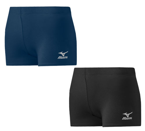 mizuno women's core flat front volleyball shorts damen