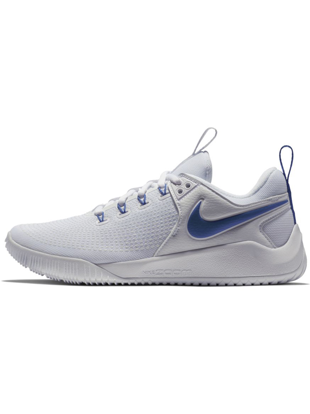 Women's Nike Zoom HyperAce 2 Shoes WhiteRoyal | Midwest Volleyball Warehouse