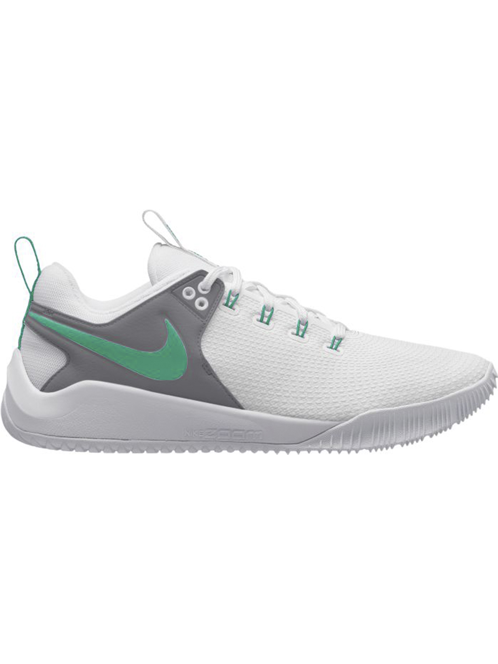 d8fccff6bb9cf4 Women s Nike Zoom HyperAce 2 Shoe - White Teal