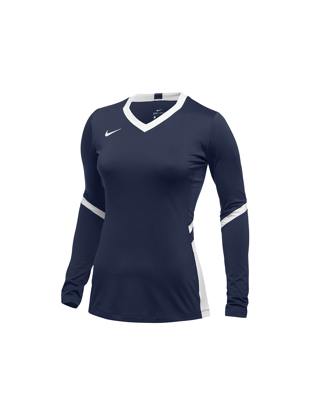 Paternal Recurso fantasma  Nike Youth LS Hyperace Jersey - Navy/White   Midwest Volleyball Warehouse
