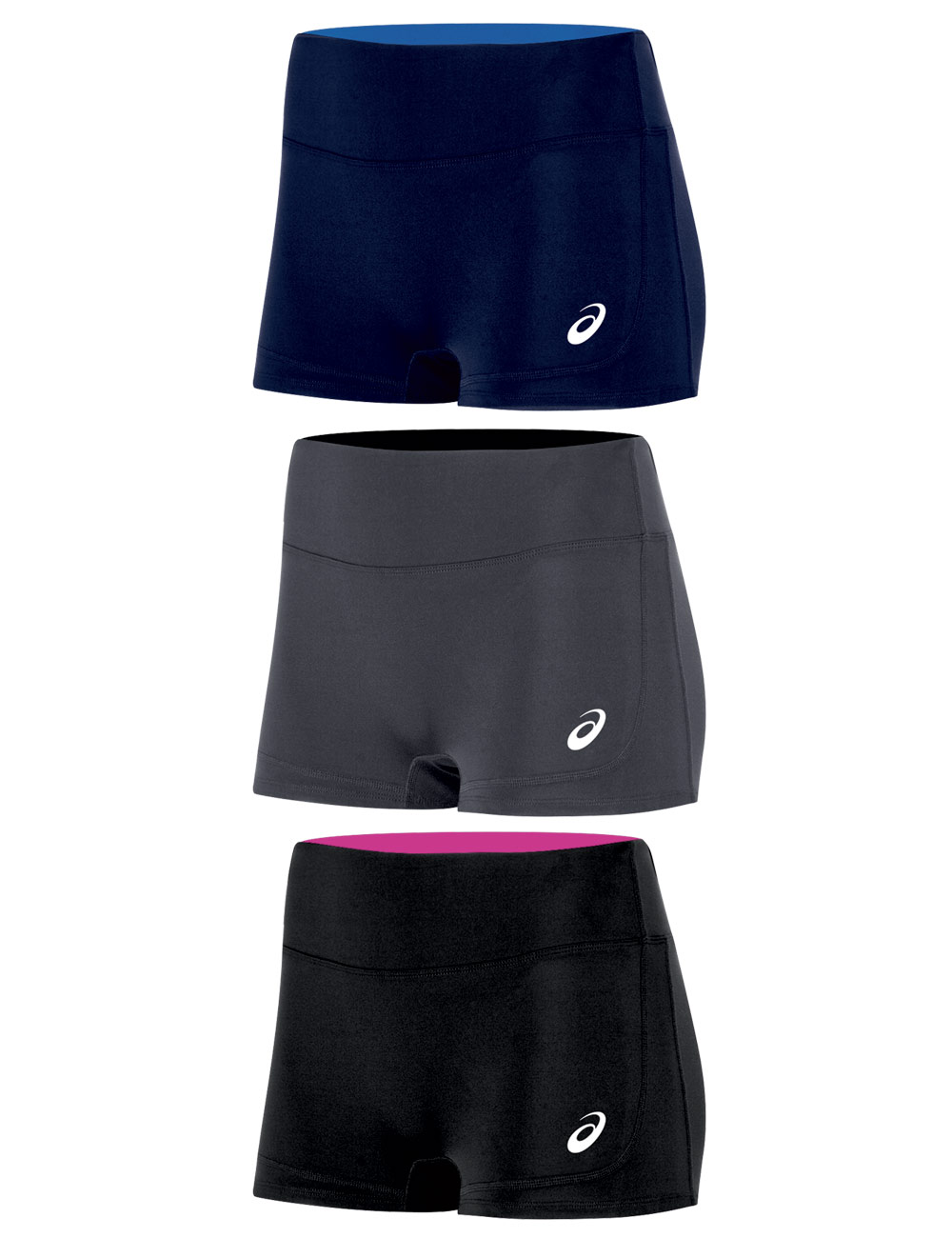 Asics Volley Booty Shorts  Midwest Volleyball Warehouse-9015