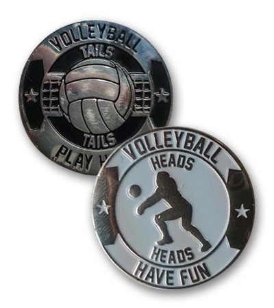 Image result for volleyball coin toss