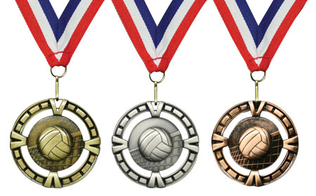 Victory Volleyball Medals | Midwest Volleyball Warehouse