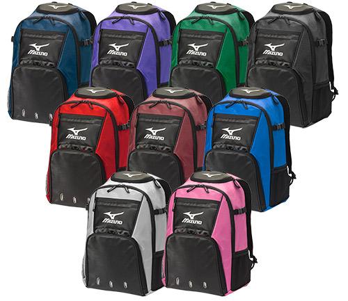 Mizuno Organizer G4 Backpack Silver