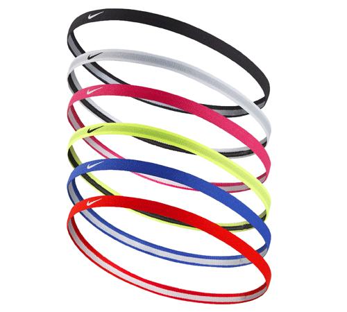 NIKE Swoosh Sport Headbands - Six pack  3cc67fc233a