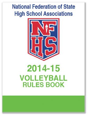 high school volleyball rule book