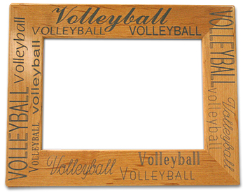 volleyball word picture frame midwest volleyball warehouse