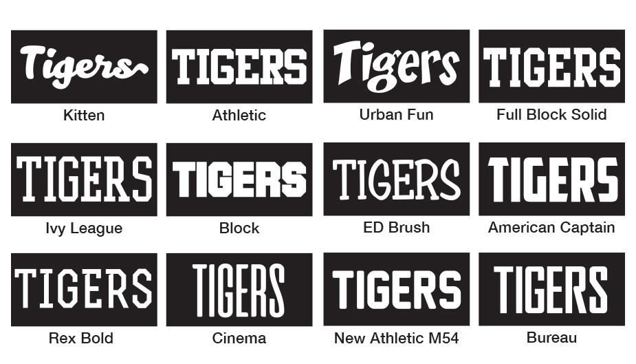 popular fonts list
